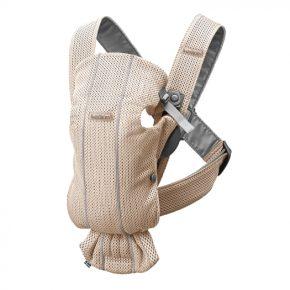 Рюкзак для переноски Mini, 3D Mesh, Жемчужно-розовый